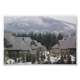 Whistler British Columbia Poster