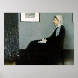 Whistlers mor - reproduktionskonstaffisch poster