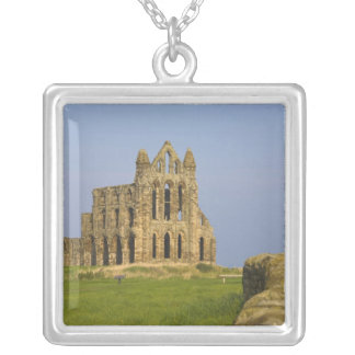 Whitby Abbey, Whitby, norr Yorkshire, England Silverpläterat Halsband