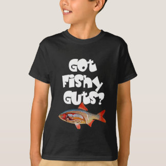 White Got fishy guts T Shirt