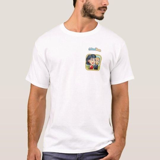 White t-shirt for boys