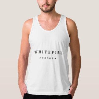 Whitefish Montana Tank Top