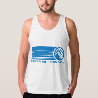 Whitefishberg Montana Tank Top