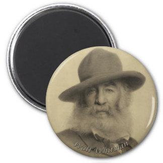 Whitman den bra grå färgpoeten magnet