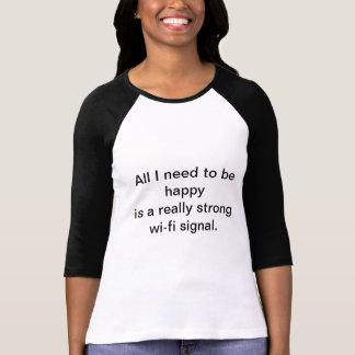 Wi-fi signalerar tshirts
