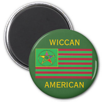 Wiccan amerikanmagnet magnet
