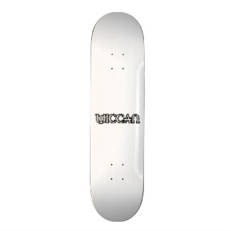 Wiccan Old School Skateboard Bräda 18 Cm