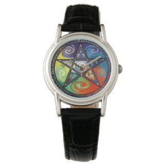 Wiccan Pentagram Armbandsur