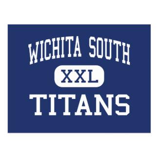 Wichita södra - jättar - kick - Wichita Kansas Vykort