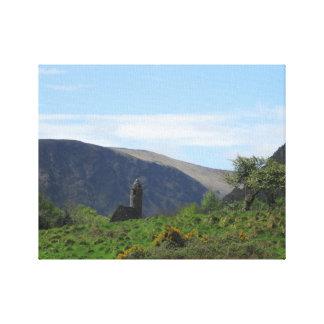 Wicklow berg canvastryck
