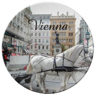 Wien Österrike Porslinstallrik