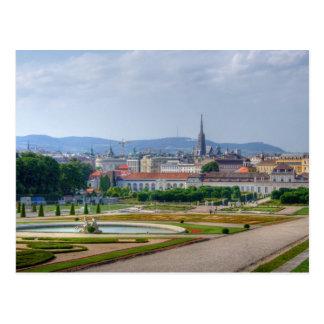 Wien Österrike Vykort