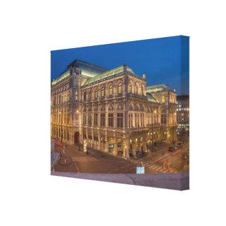Wien statlig opera, Österrike Canvastryck