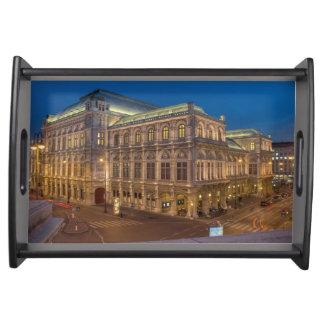 Wien statlig opera, Österrike Frukostbricka