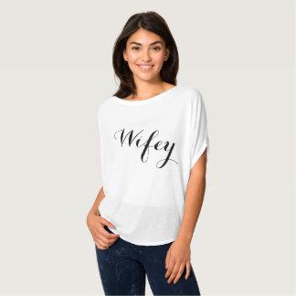Wifey Flowy skjorta T Shirts