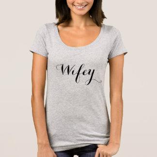 Wifey skjorta tröja