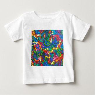 Wiggly gul mask tee shirt