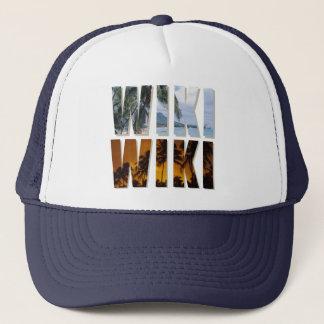 """""""Wiki-Wiki"""" lastbilsförarelock med det hawaianska Truckerkeps"""
