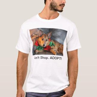 Wiley shoppar inte, ADOPTERAR! Tee Shirts