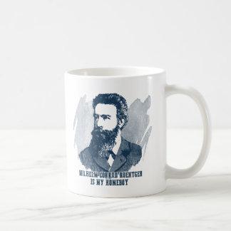 Wilhelm Conrad Roentgen är min Homeboy Kaffemugg