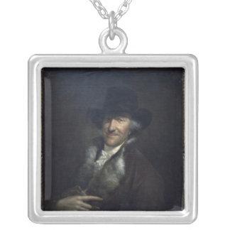 Wilhelm Friedemann Bach, c.1760 Silverpläterat Halsband