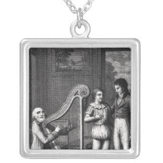 Wilhelm Meisters Apprenticeship Silverpläterat Halsband