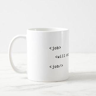 Will kodifierar för pengar kaffemugg