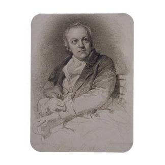 William Blake (1757-1827) som inristas av Luigi Sc Magnet