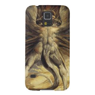 William Blake - den underbara röda draken och Galaxy S5 Fodral