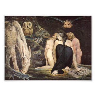 William Blake Hecate tryck