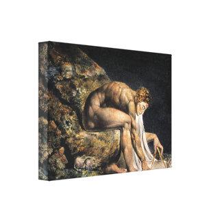 William Blake Isaac Newton Canvastryck