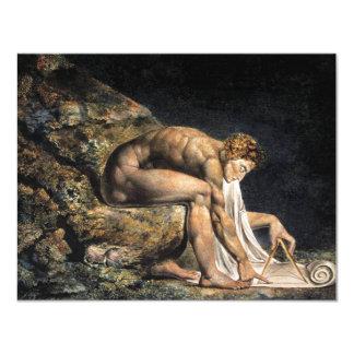 William Blake Isaac Newton inbjudningar