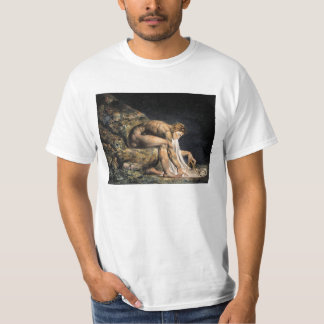 William Blake Isaac Newton T-tröja Tee Shirt