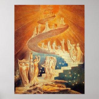 William Blake:  Jacob stege Poster