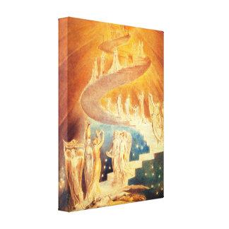 William Blake Jacob stegekanvastryck Canvastryck