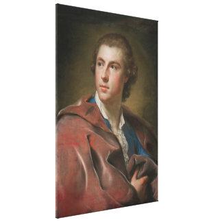 William Burton Conyngham vid Anton Raphael Mengs Canvastryck