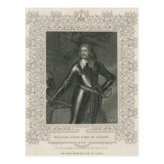 William fegis, 1st Earl av fegisen Vykort