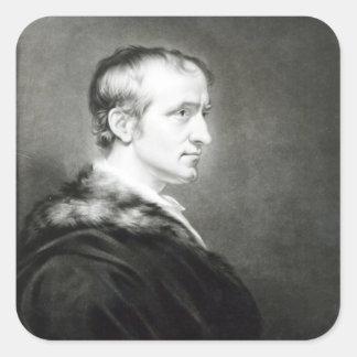 William Godwin 1802 Fyrkantigt Klistermärke