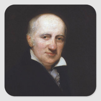 William Godwin av Henry William Pickersgill Fyrkantigt Klistermärke
