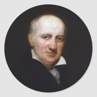 William Godwin av Henry William Pickersgill Runt Klistermärke