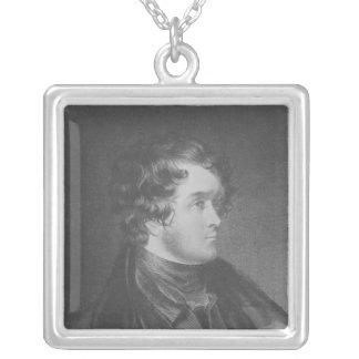 William Harrison Ainsworth Silverpläterat Halsband