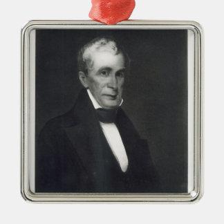 William Henry Harrison 9th president av förena Julgransprydnad Metall