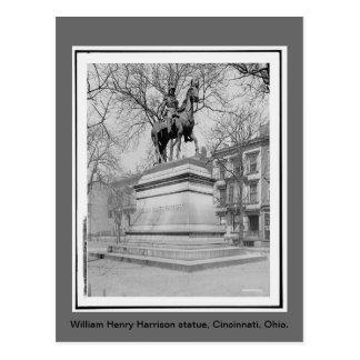 William Henry Harrison lagar, vintagefoto Vykort