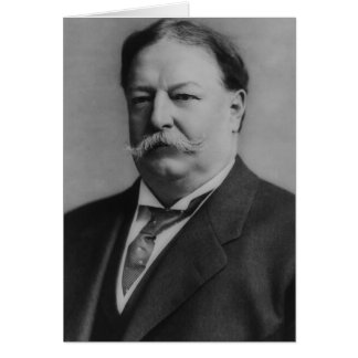 William Howard Taft Hälsningskort
