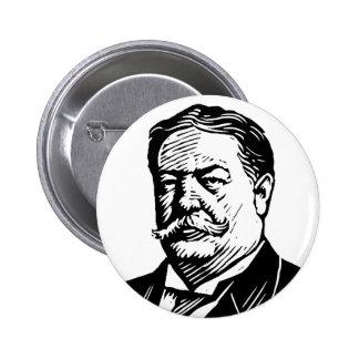 William Howard Taft knäppas Standard Knapp Rund 5.7 Cm