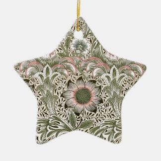 William Morris Corncockle Stjärnformad Julgransprydnad I Keramik