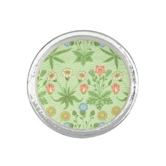 William Morris daisymönster Ring Med Foto