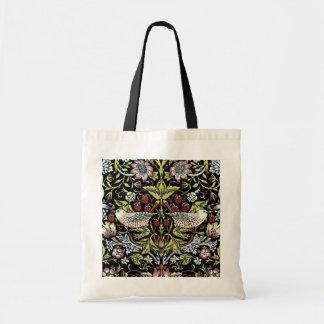 William Morris fåglar och blommor 2 Budget Tygkasse