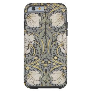 William Morris grönt och blom- iPhone för svart 6 Tough iPhone 6 Fodral