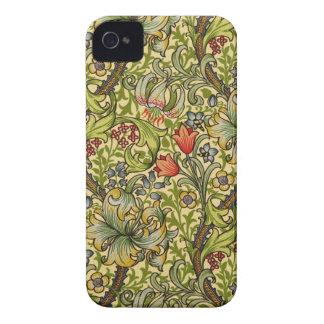 William Morris guld- lilja Case-Mate iPhone 4 Skydd